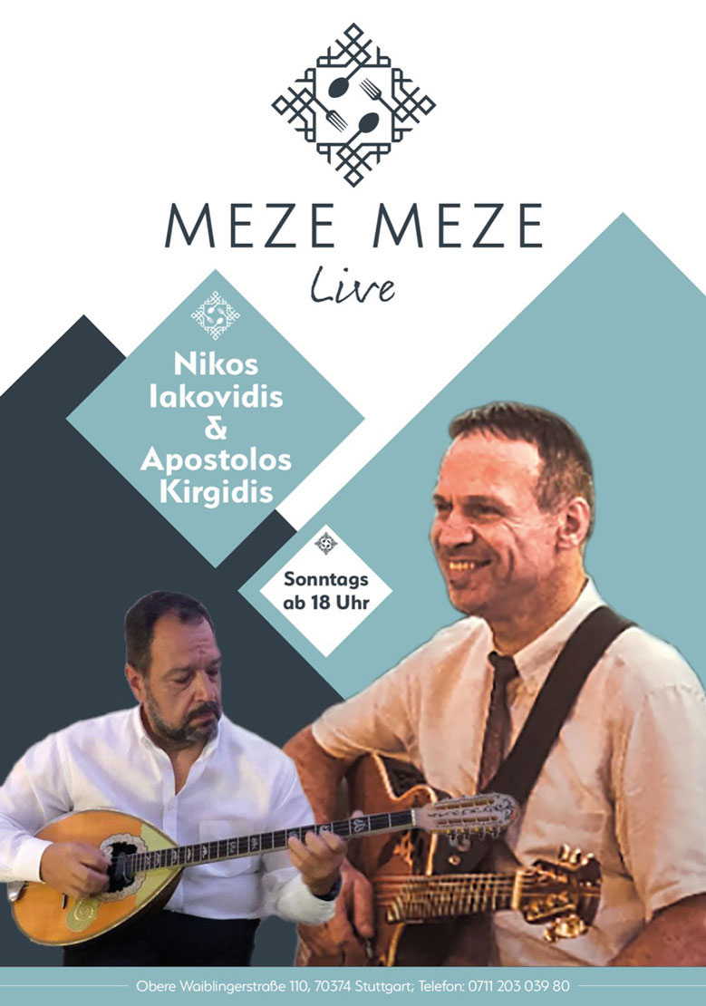 Sonntag Nikos Iakovidis Apostolos Kirgidis - Meze Meze